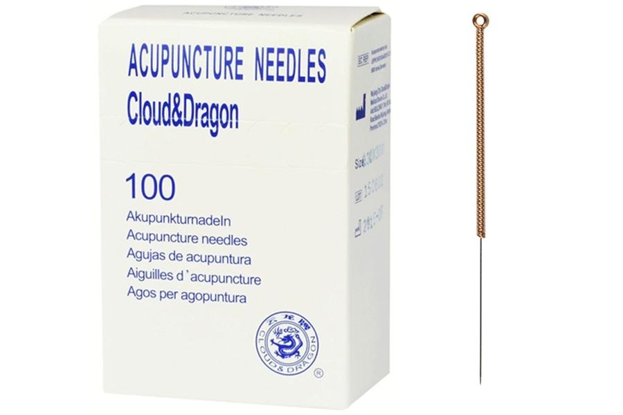 Agulhas de Acupunctura Sem Guia - Médias (30 até 50mm de comprimento)