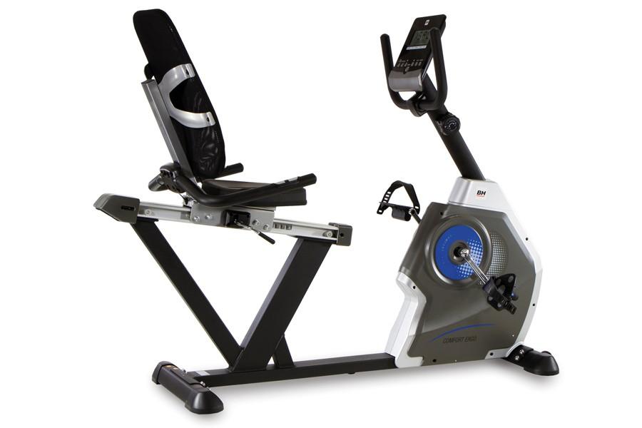 Bicicleta Estática Reclinada Comfort Ergo BH