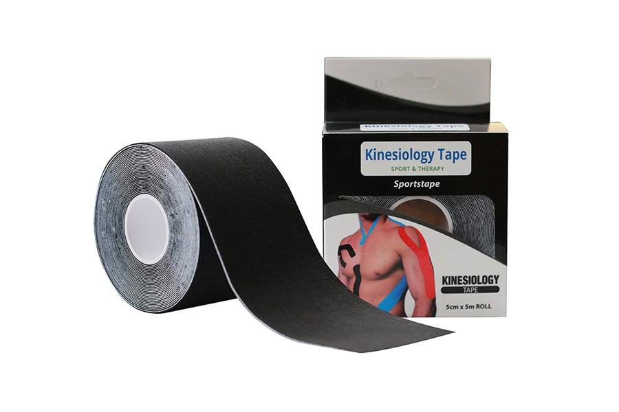 Kinesio Tape – Banda Neuromuscular Preto