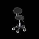 Cadeira Giratória de Elevação Hidráulica - Preto ⚡️Oferta Flash⚡️