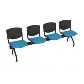 Cadeiras de Sala de Espera/Recepção 4 Lugares