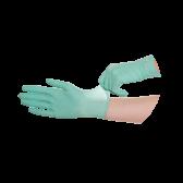 Luvas De Látex Verde Menta, Sem Pó - 100 unidades - Tamanho S :: Disponível