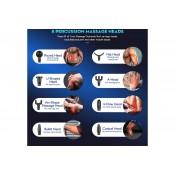Pistola de Massagem - Massage Gun com 8 Cabeças ⚡️Promoção até 31/09