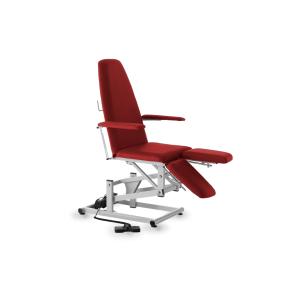 Cadeira de Podologia/Pedicure Vermelha