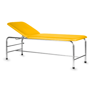 Marquesa Fixa em Inox - 185 x 60 cm - amarelo