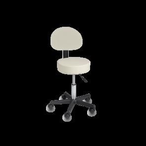 Cadeira Giratória de Elevação Hidráulica - Branco