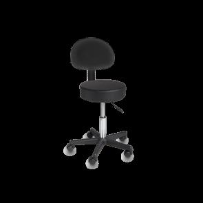 Cadeira Giratória de Elevação Hidráulica - Preto