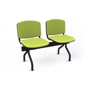 Cadeiras de Sala de Espera/Recepção 2 Lugares (Estofado)