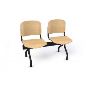 Cadeiras de Sala de Espera/Recepção 2 Lugares (Faia)