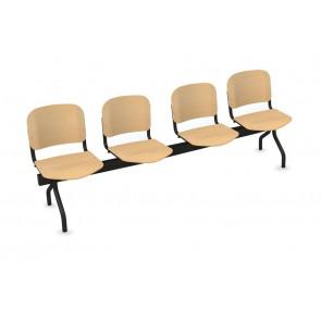 Cadeiras de Sala de Espera/Recepção 4 Lugares (Faia)