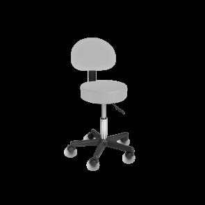 Cadeira Giratória de Elevação Hidráulica - Cinza