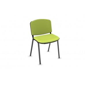 Cadeira Simples Encosto e Assento Estofado