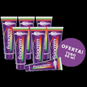 Fisiocrem Pack 6 x 250 ml - Oferta tubo 60 ml