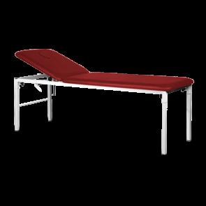 Marquesa Fixa em Metal com orifício facial - 185 x 60 cm - vermelha
