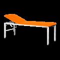 Marquesa Fixa em Metal com orifício facial - 185 x 60 cm - laranja